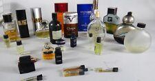 MEN man Pour Monsieur COLOGNE Vintage lot 1980 1990 Chanel sample tester eau de
