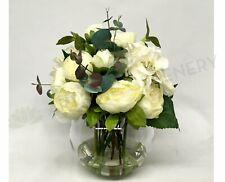 NEW Artificial Flowers/Plants FA1053 - Peony & Hydrangea Floral Arrangement