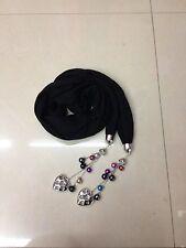 Clearance BULK Wholesale Scarf Fashion Jewellery Pendant Scarf 35xPCS Mix Design