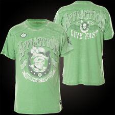 AFFLICTION T-Shirt Lucky Rider Grün T-Shirts