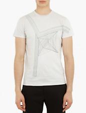 Jil Sander Imprimer T-Shirt-XL & XXL-RRP £ 108-Coton doux-MAGNIFIQUE-Bnwt