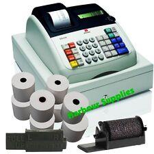 Hasta Rollos Y Tinta-Olivetti Ecr 6100 ecr6100 ecr-6100 ollivetti Oliveti
