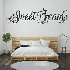 Wandtattoo Wandsticker Wandaufkleber Schlafzimmer Sweet Dreams Sterne WT135