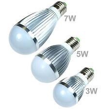 LED Bulb White Cool Energy Saving Light Lamp E26 / E27  3W 5W 7W Globe Standard