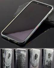 Samsung Galaxy A6 2018 Silikon Case Tasche Hülle Schutzhülle Tattoo Design Cover