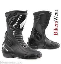 Forma Freccia Black Sport & Racing Motorcycle Boots  was RRP:£159.99