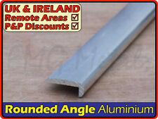 Aluminium Rounded Corner Nosing║25 x 10 mm║(hockey stick,round edge,profile)