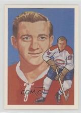 1987 Cartophilium Hockey Hall of Fame #190 Dickie Moore Montreal Canadiens Card