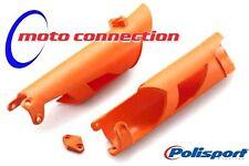 Fork Guard Plastics KTM  XC EXC 125 150 200 250 300 08-15 ORANGE POLISPORT