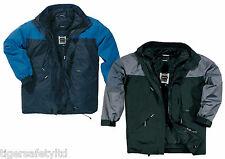 Delta Plus Panoply Alaska 2-in-1 Waterproof Mens Outdoor Parka Jacket Rain Coat
