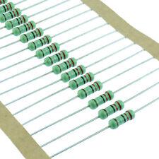 1/2W 0.5W Metal Film Resistor 1% Tolerance 1 Ohm - 4.7M Ohm