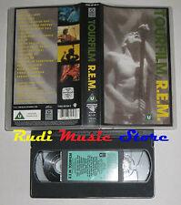 VHS REM R.E.M. Tourfilm 1990 WARNER 7599-38184-3 85 MINUTI no cd mc dvd lp(VM5)*
