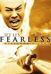 Jet Li's Fearless (Unrated Director's Cut), Good DVD, Anthony de Longis, Jet Li,