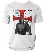 Templar T Shirt chevaliers nouveau chevalier teutonique croisé coton T-Shirt