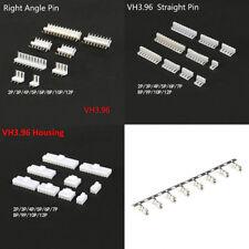 VH 3.96 Straight/Right Angle Pin Header PCB Plug Crimp Terminal Connectors 2-12P