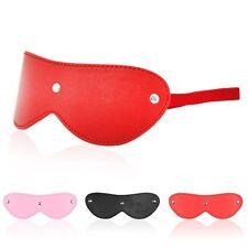 Fashion Lady Leather Eye Mask Blinder Blindfold Women Nightwear Costume Sex Toy