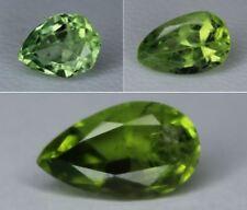Natural Peridot Loose Pear Cut Gemstone Pakistan Best Color 8x6mm 10x6mm 11x6mm