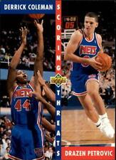 1992-93 Upper Deck Baskeball #502 - #510 - Choose Your Cards