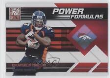 2011 Donruss Elite Power Formulas Red #16 Knowshon Moreno Denver Broncos Card