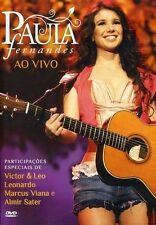 Paula Fernandes: Ao Vivo (DVD) NEW ALL REGION DVD