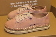 New Zara Split Suede Leather Bluchers With Contrast Sole Shoes Sz 6, 6.5, 8, 9