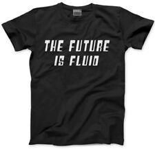 The Future Is Fluid - Gay lesbian bi trans gender neutral Mens Unisex T-Shirt