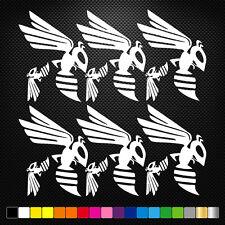 12x Hornet Vinyl Decal Stickers Feuille moto sponsors auto tuning Qualité