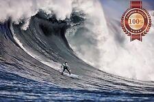 NEW SURFING BIG WAVE MAVERICKS BEACH SURF PHOTO WALL ART PRINT - PREMIUM POSTER
