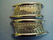 TRIUMPH 4 GALLON TANK BADGES 6T TIGER110 TR6 T120 BONNEVILLE 82-4766/7