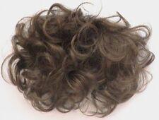 WOMENS PULL-THROUGH HAIR TOPPER WIGLET BANGS HAIRPIECE ENHANCER ADD ON CROWN