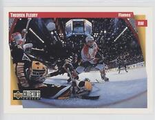 1996 Upper Deck Collector's Choice Jumbos #1 Theoren Fleury Calgary Flames Card
