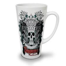 Venganza Be Mine Cráneo Nuevo Blanco Té Café Taza de café con leche 12 17 OZ (approx. 481.93 g)   wellcoda