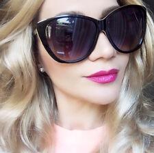 df5064902e Oversized XL Cat Eye Victoria Gold Rim Big Celebrity Large Women Sunglasses  3208