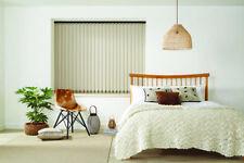 Vertical Blind - Headrail and Slats - Fabric Louvolite Herringbone