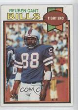 1979 Topps #358 Reuben Gant Buffalo Bills Football Card