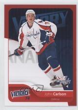 2011-12 Upper Deck Victory Red #198 John Carlson Washington Capitals Hockey Card