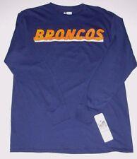 Denver Broncos NFL T-Shirt Long Sleeve Men's size Medium or Large New w/Tag