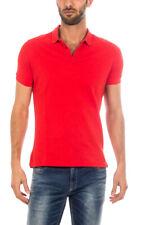 Polo Armani Jeans AJ Polo Shirt 73€ -25% Uomo Rosso 8N6F126J0SZ-1454