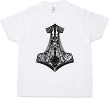 THOR'S HAMMER I Kids Boys T-Shirt Odin Loki Midgard Mjölnir Celts Germans God