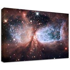 S106 STAR CANVAS | LARGE WALL ART | space nasa hubble nebula stars galaxy