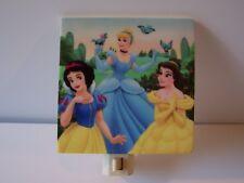 Disney Princess Heroine Night Light Snow White Cinderella Belle Blue Birds
