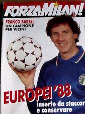 Forza Milan 6 1988 Franco Baresi un campione per Vicini