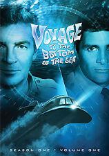 VOYAGE TO THE BOTTOM OF SEA - SEASON ONE Vol. 1 rare (3 disc) dvd Sci-Fi 1964 Ln