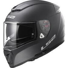 LS2 FF390 Full Face DVS Motorbike Helmet Bluetooth Ready Breaker Solid Titanium