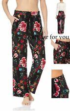Natori Josie Floral Drawstring Pajama Pants