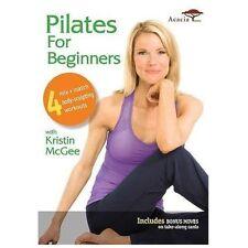 Pilates for Beginners, New DVD, Kristin McGee, Ernest Schultz