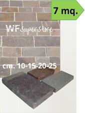 Piastrelle in Porfido - 7 mq - pavimento rivestimento mattonelle pietra giardino