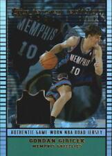 2002-03 Topps Jersey Edition Grizzlies Basketball Card #JEGG Gordan Giricek