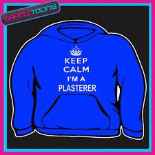 KEEP CALM I'M A PLASTERER ADULTS MENS LADIES HOODIE HOODY GIFT