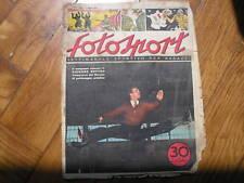 FOTOSPORT #1 1952 BUTTON BOTTECCHIA JOE DI MAGGIO NYERS